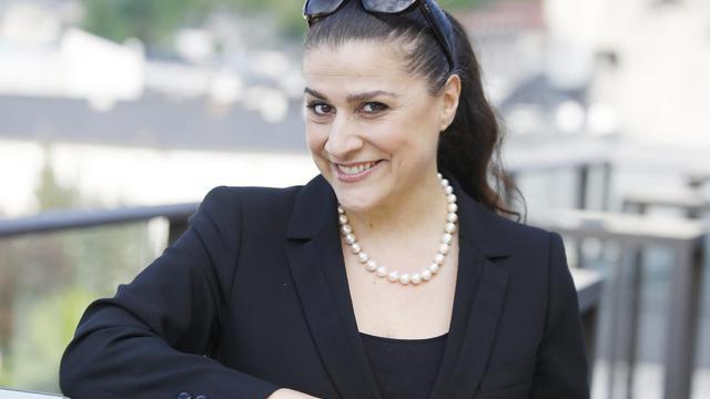 La mezzo-soprano italienne Cecilia Bartoli, le 5 mai 2013 à Salzbourg, en Autriche [Dieter Nagl / AFP/Archives]
