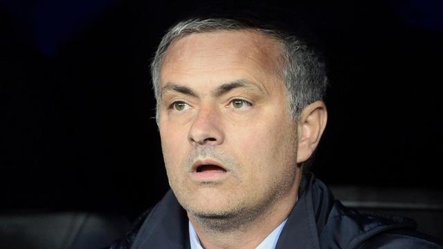 José Mourinho, l'entraîneur du Real Madrid, le 17 mai 2013 lors de la finale de la Coupe du Roi face à l'Atletico de Madrid [Pierre-Philippe Marcou / AFP/Archives]