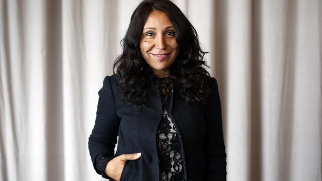 La réalisatrice saoudienne Haifaa Al-Mansour, le 15 mai 2013, à Cannes [Loic Venance / AFP/Archives]