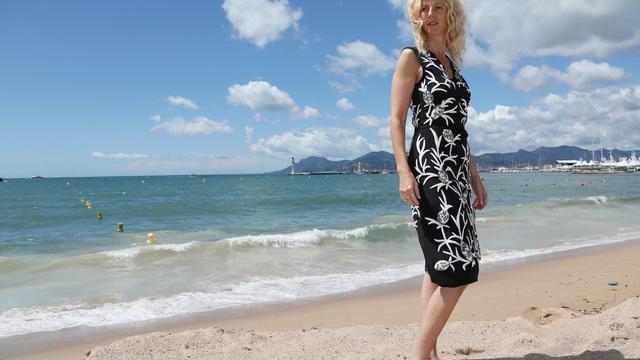 L'actrice Sandrine Kiberlain, le 19 mai 2013 à Cannes [Loic Venance / AFP]
