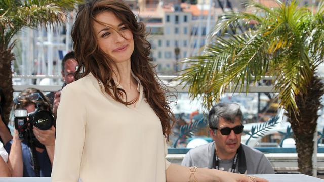 """L'actrice italienne Anita Kravos, le 21 mai 2013 à Cannes, pour la promotion de son film """"La grande belleza"""" [Loic Venance / AFP]"""
