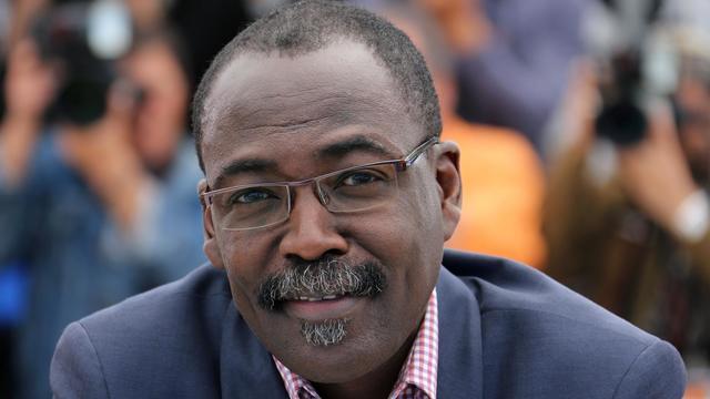 Le réalisateur tchadien Mahamat-Saleh Haroun, le 22 mai 2013 à Cannes [Loic Venance / AFP]