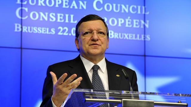 Le président de la Commission européenne, José Manuel Barroso, le 22 mai 2013 à Bruxelles [Georges Gobet / AFP]
