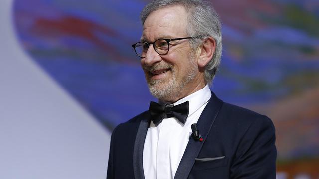 Steven Spielberg, le président américain du jury du festival de Cannes, le 26 mai 2013 [Valery Hache / AFP]