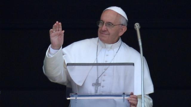 Le pape François, le 2 juin 2013 à Saint-Pierre au Vatican [Alberto Pizzoli / AFP]
