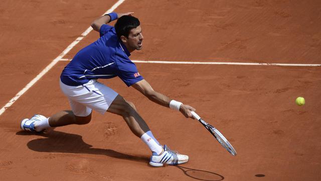 Le Serbe Novak Djokovic à Roland-Garros le 3 juin 2013 [Martin Bureau / AFP]