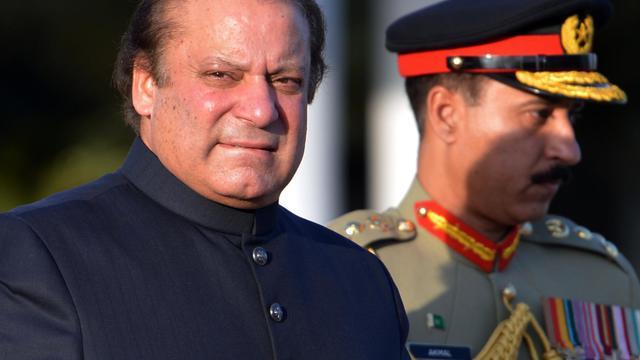 Le nouveau Premier ministre pakistanais Nawaz Sharif, le 5 juin 2013 à Islamabad [Aamir Qureshi / AFP/Archives]