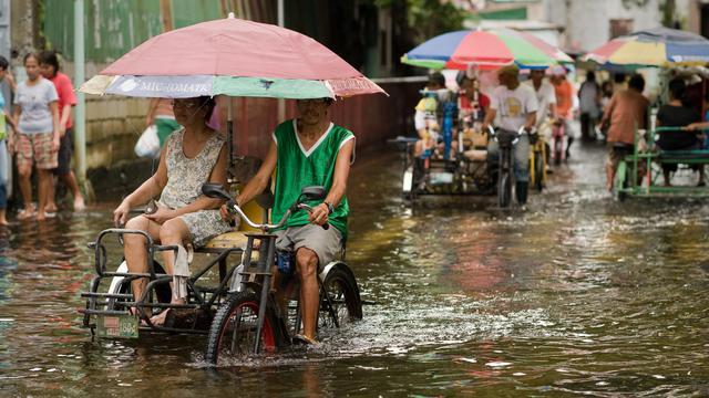 Les autorités philippines ont envoyé du matériel d'urgence aux régions du nord de l'archipel à l'approche d'une tempête tropicale qui pourrait aggraver les conséquences dramatiques des intempéries de ces dernières semaines[AFP]