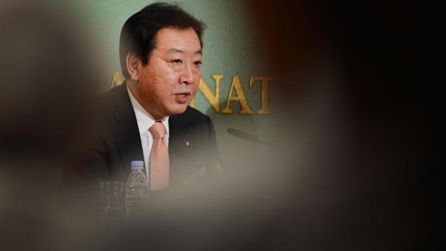 Le Premier ministre Yoshihiko Noda, le 12 septembre 2012 à Tokyo [Toru Yamanaka / AFP]