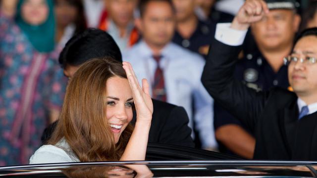 Catherine, épouse du prince William, le 13 septembre 2012 à Senang, en Malaysie [Mohd Rasfan / AFP/Pool]