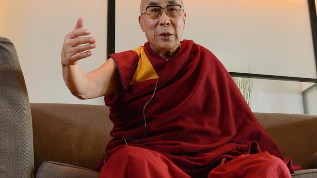 Le dalaï lama, lors d'une conférence de presse, le 5 novembre 2012 à Yokohama, près de Tokyo [Toru Yamanaka / AFP]