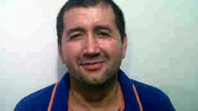 Photo de la police colombienne, rendue publique le 18 septembre 2012, montrant le baron de la drogue Daniel Barrera [ / Police/AFP]