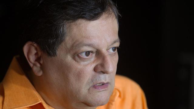 La journaliste vénézuélien Kico Bautista, le 27 mai 2013 à Caracas [ / AFP]