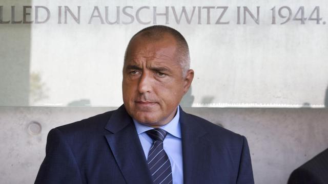 Le Premier ministre bulgare Boïko Borissov, le 11 septembre 2012 à Jérusalem, en Israël [Menahem Kahana / AFP]
