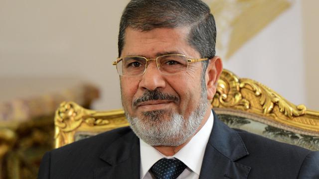 Le président égyptien Mohamed Morsi, le 16 septembre 2012 au Caire [Khaled Desouki / AFP/Archives]