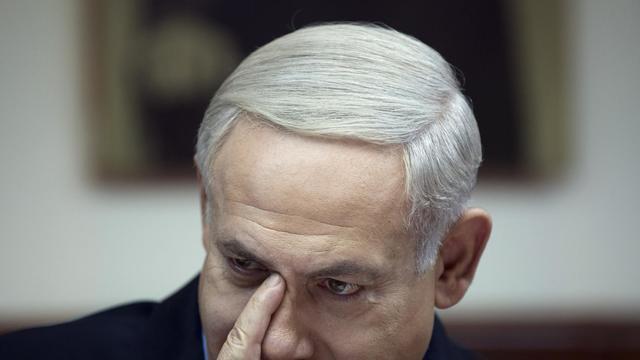 Le Premier ministre israélien Benjamin Netanyahu, le 23 septembre 2012 à Jérusalem [Ariel Schalit / AFP]
