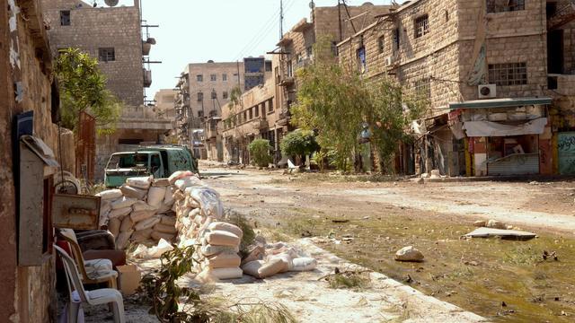 Une rue d'Alep le 24 septembre 2012 [ / AFP]