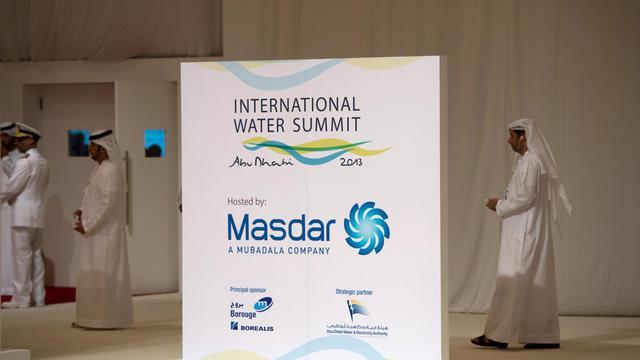Le sommet mondial sur les énergies du futur organisé à Abou Dhabi, le 15 janvier 2013 [Bertrand Langlois / AFP]