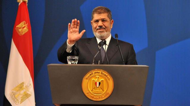 Le président égyptien Mohamed Morsi au Caire le 29 mai 2013 [ / Présidence égyptienne/AFP/Archives]