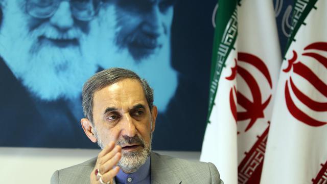 Ali Akbar Velayati s'exprime le 3 juin 2013 à Téhéran lors d'un entretien avec l'AFP [Atta Kenare / AFP]