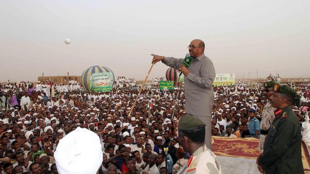 Le président soudanais Omar el-Béchir, le 8 juin 2013 à Khartoum [Ebrahim Hamid / AFP]