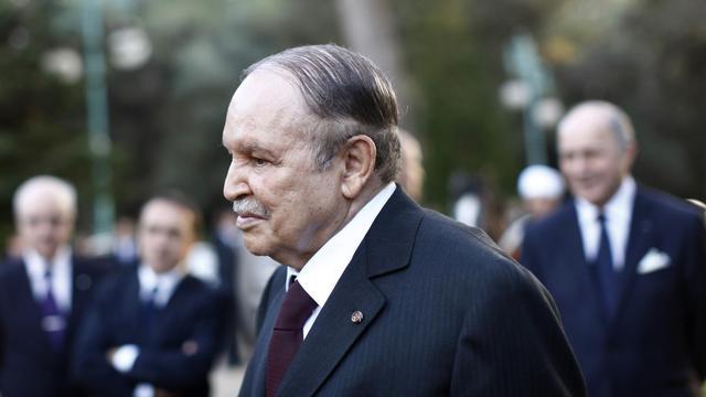 Le président algérien Abdelaziz Bouteflika arrive le 19 décembre 2012 à Zeralda [Denis Allard / Pool/AFP/Archives]