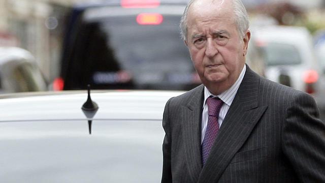 Edouard Balladur, en septembre 2011 à Paris [Alexander Klein / AFP/Archives]