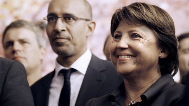 Le ministre de l'Intérieur Manuel Valls s'est prononcé vendredi en faveur d'Harlem Désir pour succéder à Martine Aubry à la tête du PS. [AFP]