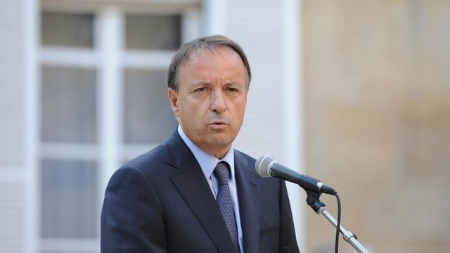Le président du Sénat Jean-Pierre Bel, le 1er octobre 2011 à Paris [Johanna Leguerre / AFP/Archives]