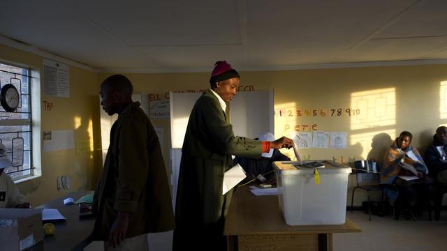 Primaires à new york ouverture des bureaux de vote
