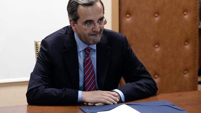 Le Premier ministre Antonis Samaras va demander un rééchelonnement du plan d'austérité grec lors de sa rencontre avec Angela Merkel et François Hollande la semaine prochaine, rapporte mercredi le Financial Times.[AFP]