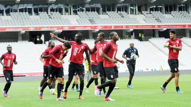 Les joueurs de Lille se sont entraînés mardi pour la première fois dans leur nouvelle enceinte, le Grand Stade (50.000 places), où ils disputeront vendredi leur premier match de la saison à domicile, face à Nancy en Championnat.[AFP]