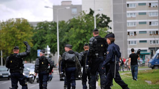 Les forces de l'ordre à Amiens.