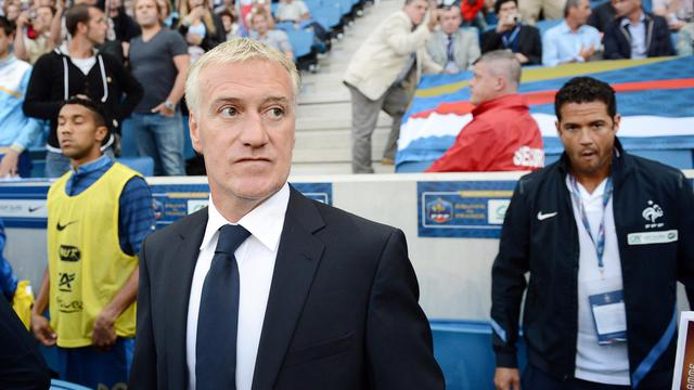 Le sélectionneur de l'équipe de France Didier Deschamps.
