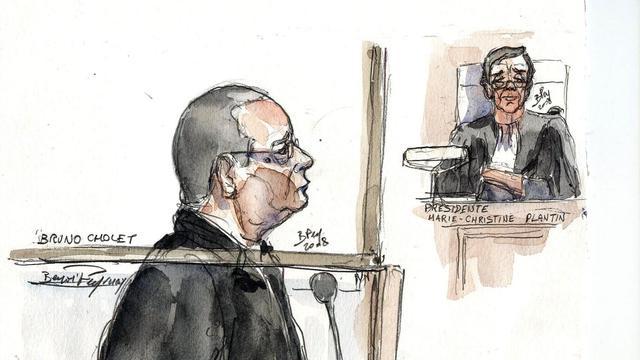 Le procès de Bruno Cholet, qui a eu un malaise mardi au début de son procès pour le meurtre d'une jeune Suédoise en 2008 à Paris, devrait pouvoir reprendre en sa présence mercredi matin[AFP]