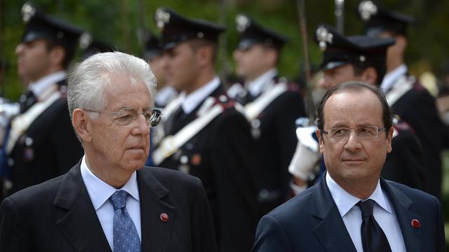 L'Italie et la France se réuniront en sommet bilatéral début décembre à Lyon (sud-est de la France), ont annoncé mardi lors d'une conférence de presse conjointe le président François Hollande et le président du Conseil Mario Monti.[AFP]