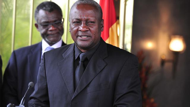 """Le président ghanéen John Dramani Mahama a assuré mercredi qu'il ne laissera pas son pays servir de """"base arrière"""" pour déstabiliser la Côte d'Ivoire, alors que la présence au Ghana de partisans de l'ex-président Laurent Gbagbo a créé des tensions entre Accra et Abidjan.[AFP]"""