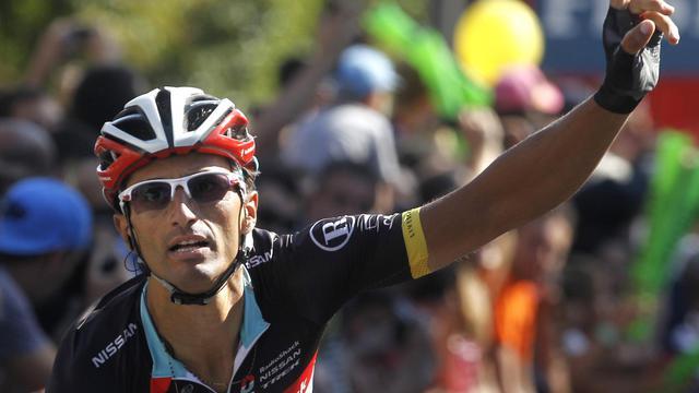 L'Italien Daniele Bennati (RadioShack) a remporté jeudi au sprint la 18e étape entre Aguilar de Campoo et Valladolid (204,5 km), l'Espagnol Alberto Contador (Saxo-Bank) restant en tête du classement général. [AFP]