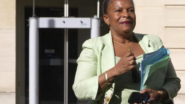 La ministre de la Justice Christiane Taubira, le 6 septembre 2012 à Paris [Joel Saget / AFP/Archives]