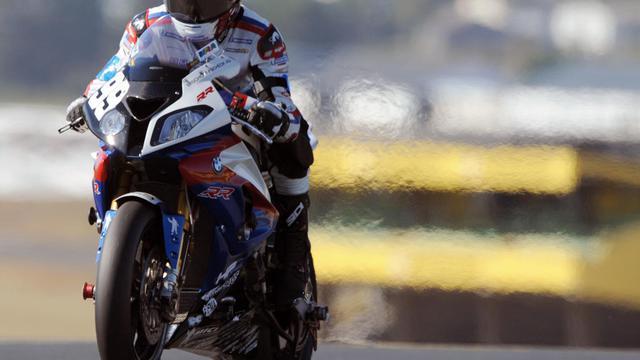 La BMW N.99 partira samedi en position de pointe de la 35e édition des 24 Heures du Mans avec pour objectif de remporter la course et donc le Championnat du monde d'Endurance face à ses trois autres concurrents directs [AFP]
