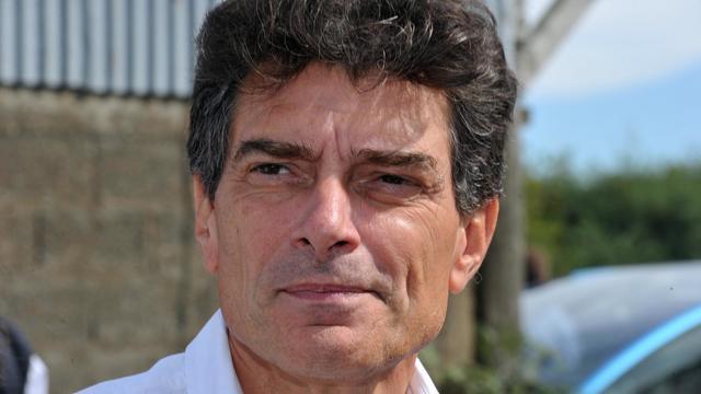 Pascal Durand, secrétaire national d'Europe-Ecologie-les- Verts (EELV), le 7 septembre 2012 à Notre-Dame-des-Landes [Frank Perry / AFP/Archives]