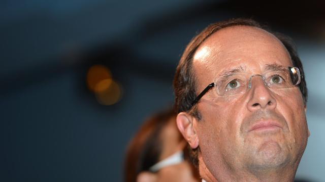 48% des Français estiment que François Hollande tient les engagements qu'il a pris pendant la campagne présidentielle alors qu'ils étaient 57% à le penser au mois d'août, selon un sondage Ifop pour le Journal du Dimanche. [AFP]