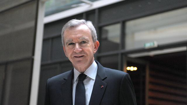 Bernard Arnault, le patron de LVMH, le 4 février 2011 à Paris [Eric Piermont / AFP/Archives]
