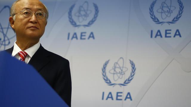 Le directeur général de l'Agence internationale de l'énergie atomique, le 10 septembre 2012 à Vienne [Alexander Klein / AFP]