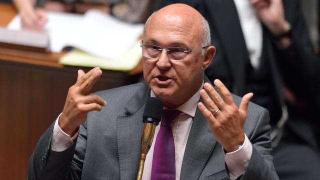 Le ministre du Travail Michel Sapin à l'Assemblée nationale, le 11 septembre 2012 [Eric Feferberg / AFP/Archives]