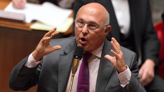 Le ministre du Travail, Michel Sapin, le 11 septembre 2012 à l'Assemblée nationale à Paris [Eric Feferberg / AFP/Archives]