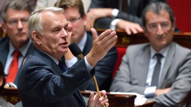 """La future Banque publique d'investissement (BPI) aura une capacité d'intervention """"de plus de 30 milliards d'euros"""" en prêts et en capital pour financer l'économie française, a annoncé mardi le Premier ministre Jean-Marc Ayrault. [AFP]"""