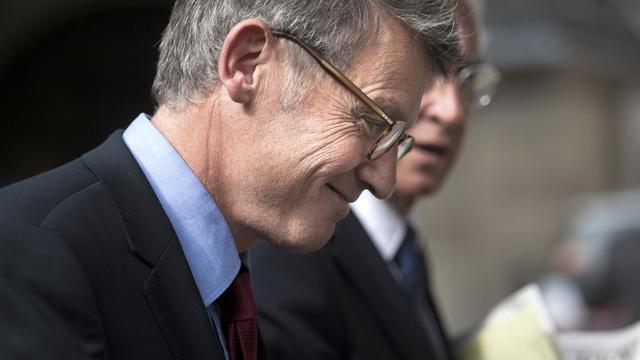 Le ministre de l'Education nationale, Vincent Peillon, le 12 septembre 2012 à Paris [Fred Dufour / AFP/Archives]