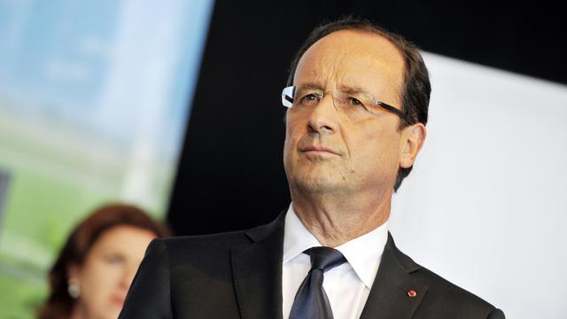 Le président François Hollande en Corrèze, le 14 septembre 2012 [Thierry Zoccolan / AFP/Archives]