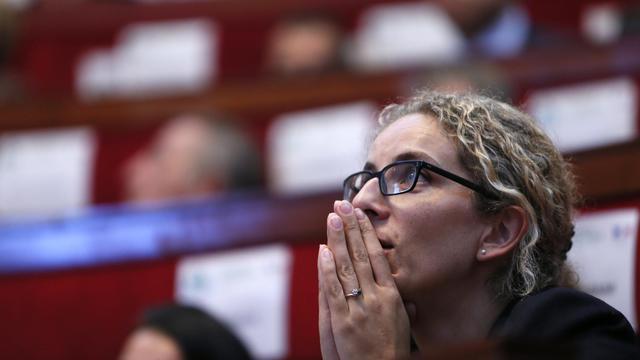 La ministre de l'Ecologie, Delphine Batho, le 15 septembre 2012 à Paris [Kenzo Tribouillard / AFP/Archives]